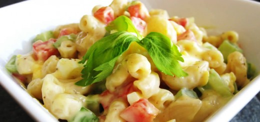 Salade-de-macaroni-à-la-mexicaine