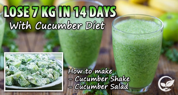Lose-7-Kg-In-14-Days-with-Cucumber-Diet-Cucumber-Shake-and-Cucumber-Salad