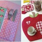 10 belles idées pour faire des nappes de table