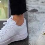 Utilisez cette astuce simple pour nettoyer vos chaussures blanches et les rendre encore plus blanches!