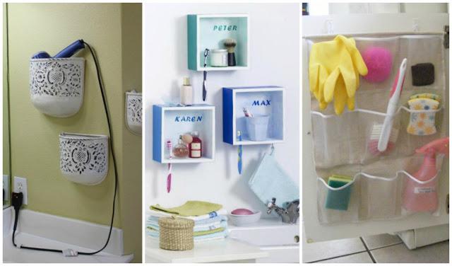 30 excellentes id es pour organiser votre salle de bain - Organiser salle de bain ...