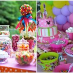 15 idées pour organiser un joli bar à bonbons