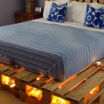 11 belles idées pour faire des lits avec des palettes