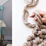Comment faire une jolie couverture en crochet en 1 heure en utilisant simplement vos mains