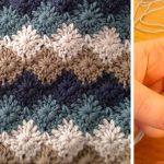 Voici comment faire le point arlequin au crochet (vidéo)