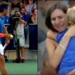 Rafael Nadal arrête son match pour permettre à cette maman, de retrouver sa fille perdue de vue