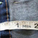 Comment faire un ourlet pour votre jean en gardant l'ourlet d'origine