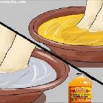 Si vous trempez vos pieds dans le vinaigre de cidre de pomme, voici ce qui va se passer