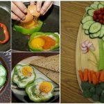 10 idées créatives pour présenter des plats pour une fête