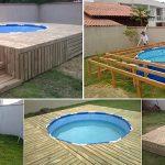 Voici comment construire une piscine hors-sol