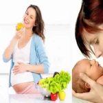 Voici ce que vous devez manger pour être en bonne santé pendant la grossesse