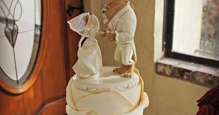 20 gâteaux de mariage pour les amoureux de Disney - Tous toqués