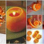 Des idées géniales pour réutiliser les pelures d'orange