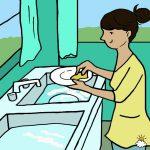 Laver la vaisselle à la main à un impact sur votre santé et votre vie : en voici 7 bienfaits