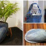 Dix choses que vous pouvez faire avec vos vieux jeans au lieu de les jeter!