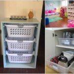 Organisez votre maison avec des bacs et des paniers en plastique