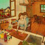 Ces illustrations sur les gestes d'amour vont vous réchauffer le cœur