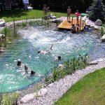 Voici comment ils ont pu construire une piscine naturelle. Génial!