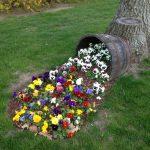 15 jolis pots de fleurs déversés pour embellir votre jardin