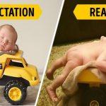 20 photos hilarantes de bébés qui n'aiment pas être pris en photo