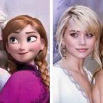20 Célébrités Qui Ressemblent Comme 2 Gouttes D'eau À Des Personnages Disney