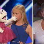 Cette ventriloque de 12 ans était très timide, mais quand la marionnette commence à chanter...