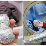 Elle a mis une boule de papier d'aluminium dans sa machine à laver. Seules quelques personnes connaissent cette superbe astuce…