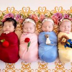 Des bébés transformés en princesses Disney