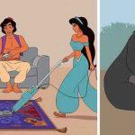 12 films de Disney réinventés comme s'ils se déroulaient en 2017