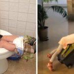 10 photos qui prouvent que les enfants peuvent vraiment dormir n'importe ou
