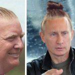 Voici à quoi ressembleraient les politiciens avec une queue de cheval