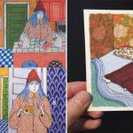 15 Illustrations sur façon dont les femmes se comportent quand elle est seule ou que personne ne la regarde