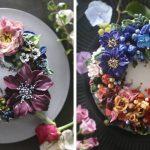 Ces gâteaux floraux sont beaucoup trop beaux pour être mangés
