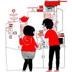 Des illustrations mignonnes qui montrent que l'amour est dans les petites choses