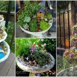 Comment transformer vos vieilles fontaines en de jolis planteurs pour votre jardin