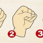 La façon dont vous fermez votre poing révèle votre personnalité cachée