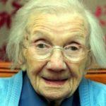 Le secret d'une longue vie consiste à éviter les hommes, déclare une femme de 109 ans
