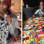 Ce garçon de 11 ans a appris à faire du crochet à l'âge de 5 ans et il est maintenant appelé le prodige du crochet
