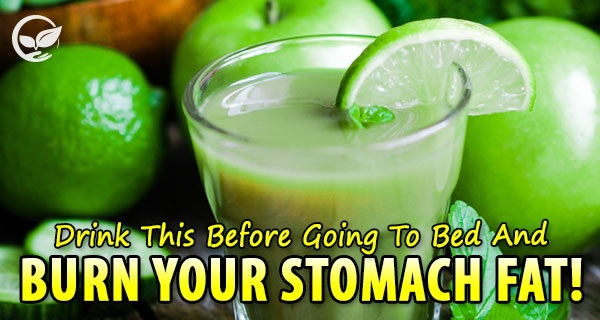 Drink-This-Before-Going-To-Bed-And-Burn-Your-Stomach-Fat