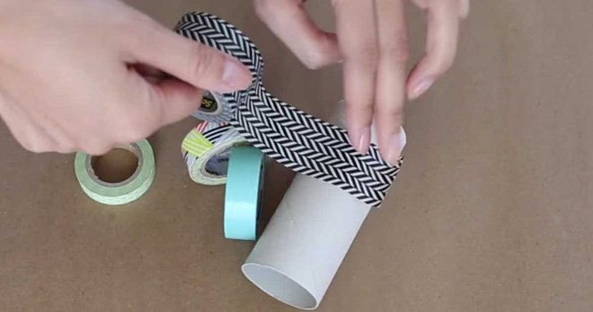 Pretty Toilet Paper Rolls Organizers