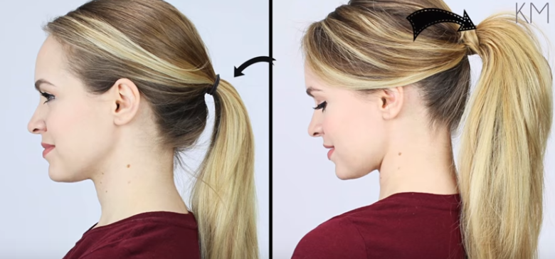 BeforeandAfterPonytail-780x364