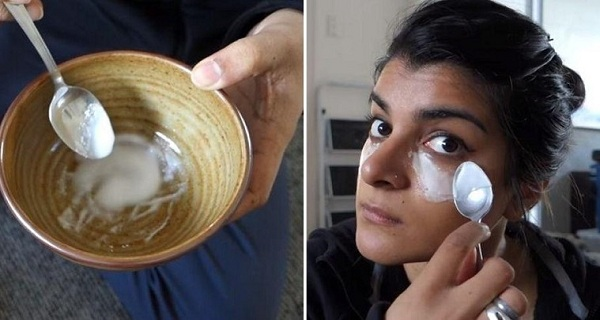 She-Rubs-Baking-Soda-On-Her-Cheeks-3-Times-a-Week.-The-Results-Are-Stunning