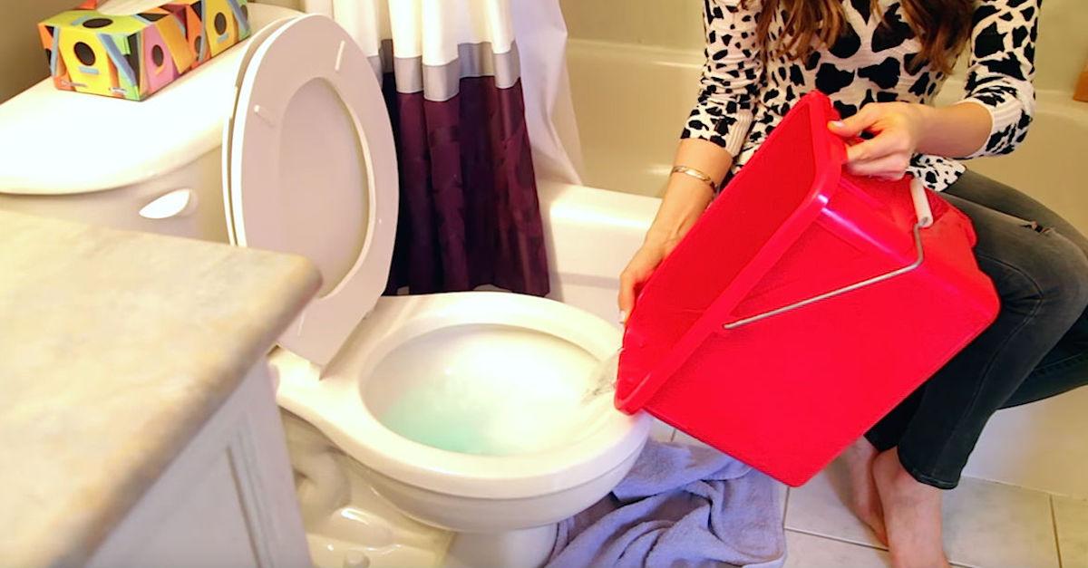 Toilet-Trick