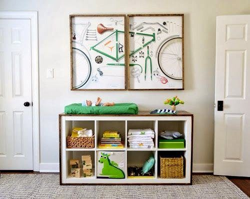 Changing-Table-Cube