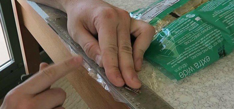 rulerandplasticbag