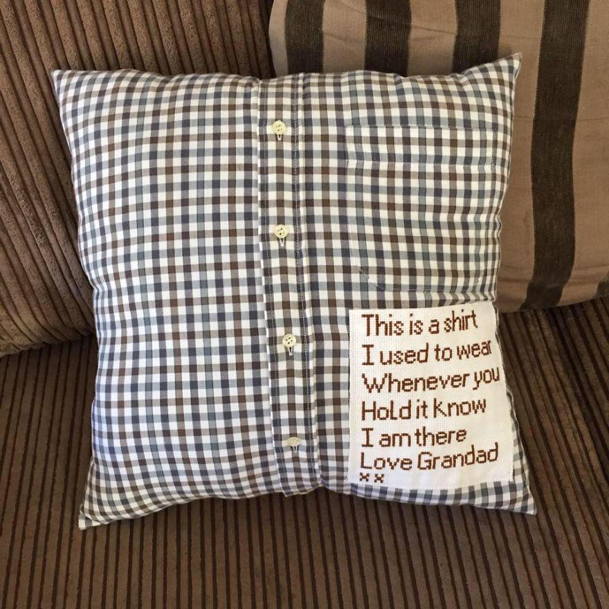 grandpa_makes_pillow_out_of_favorite_shirt_1