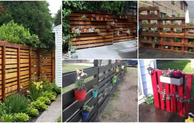 Comment Faire Une Cloture De Jardin Avec Des Palettes Tous Toques