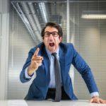 Un mauvais patron peut rendre les employés malades