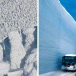 Bienvenue sur le toit du Japon, la route la plus enneigée du monde