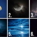 TEST: Choisissez une lune et elle révélera vos pensées cachées